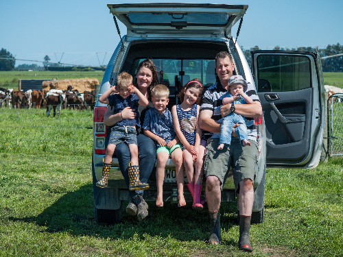 Hard graft and sacrifices on path to farm ownership